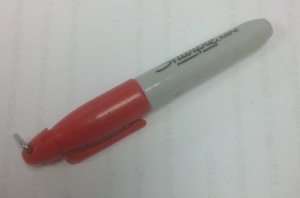 Sometimes, you need to leave the cap on the red pen.