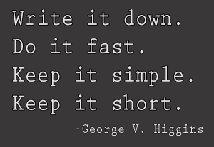 Goerge V. Higgins quote