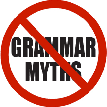 grammar myths