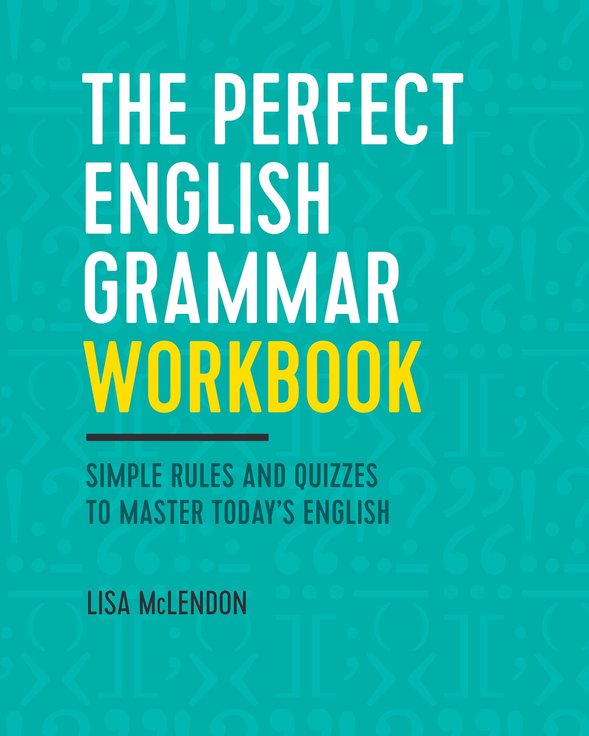 "Cover ot ""The Perfect English Grammar Workbook"""